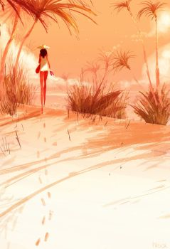 The long walk. by PascalCampion