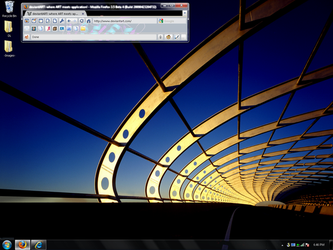 Windows 7 Desktop on XP by flclrockstar