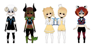 Zodiac Dolls - Series 1 - Limited Time by XxChellie-DawgxX