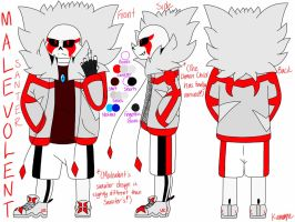 Malevolent's Reference Sheet! by SanzUnderrise