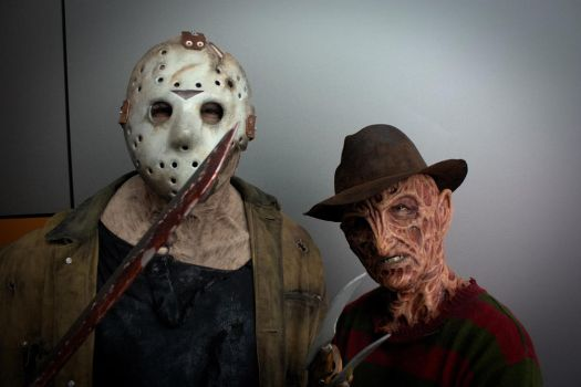 Cosplay Portraits - Freddy vs Jason by tetsuogz