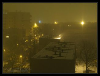 2011.01.29 Ice fog pillars 2 by Atmospheric-Bloo