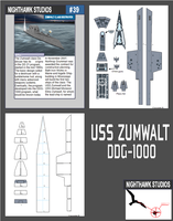 Zumwalt Class Destroyer by RocketmanTan