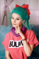 Dragonball - Bulma cosplay by Dzikan