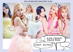 O1 | AOA Cream (Pack PNG) by crxoked