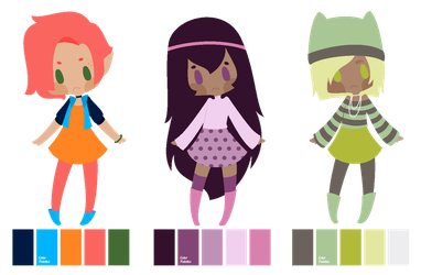 :: Palette Adopts -- Closed :: by PastelButtAdopts