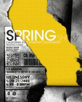 springShow Poster 1 take 4 by kenji2030