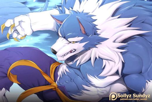 Jon Talbain (Darkstalkers 3)  Reward June 2018! by Sollyz