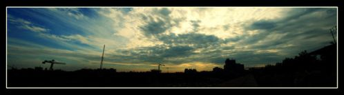 High in the sky by KenyT by Timisoara