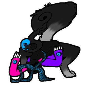 Here we see a feeding Gorlik by shadowsmancer