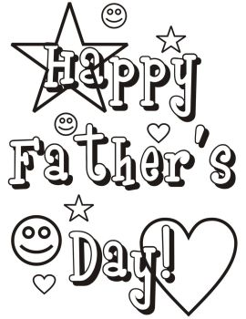Father's Day Coloring Page by mommiesofmore