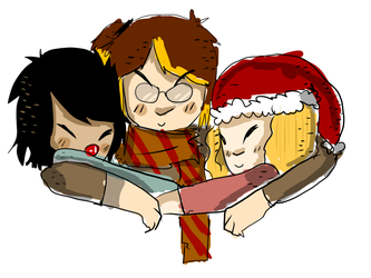 Merry Christmas {gift!} by Zelda-muffins