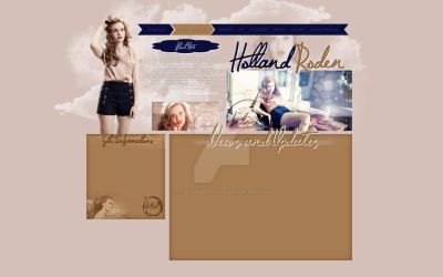 Holland free layout by ChelseaMitchell