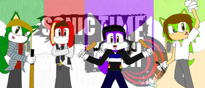 Sonic Time Rush by EmoRock114