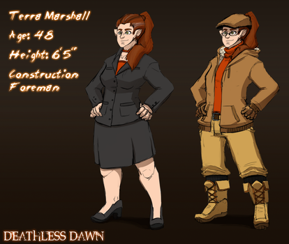 Deathless Dawn: Terra by FastAndDelicious
