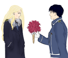 Flowers maybe? Roy\Olivier by northenbobcat