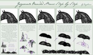 Braided Mane Step by Step by EscyKane