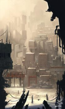 Ragtag City by AbstractLuva
