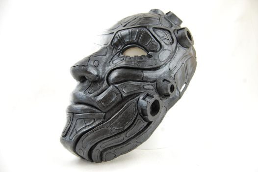 giger inspired mask by Vargarys