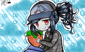 Marcy and Strawberry by FanArtLover16