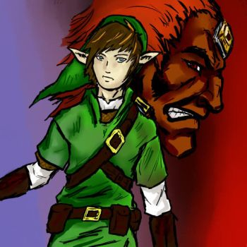 Link and the G-Man by UnlimitedShadeWorks