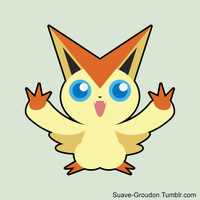 Victini by Suave-Groudon