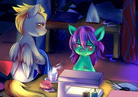 CM: See? I'm helping by bakki