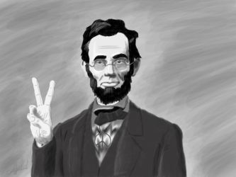 Abraham Lincoln by Einsupercorgi