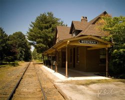 Wenonah Station by barefootphotography