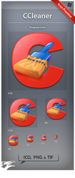 Icon CCleaner by ncrow
