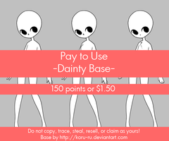 Pay to Use Base {Dainty} 150pts or $1.50 by Koru-ru