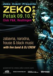 Zeko party 1 poster by icuk