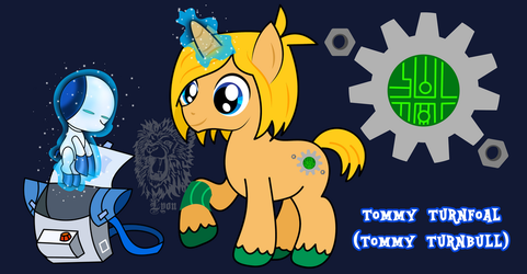 MLP/Robotboy- Tommy Turnfoal by TheBig-ChillQueen