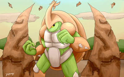 Kragg from Rivals of Aether by Zaprong
