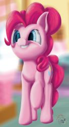 Pinkie smile by sloppyhooves