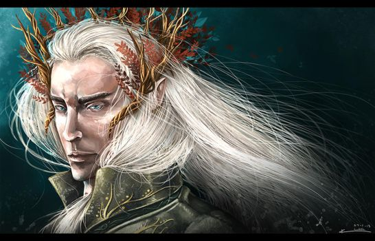 The Elvenking by kazu-ren