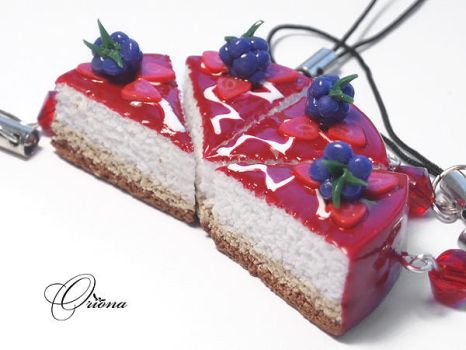Cake with blackberries by OrionaJewelry