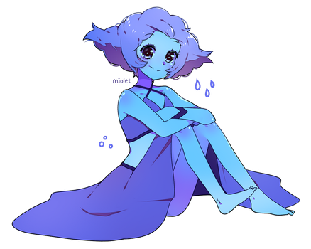 AT: Stormy Lapis by miolet