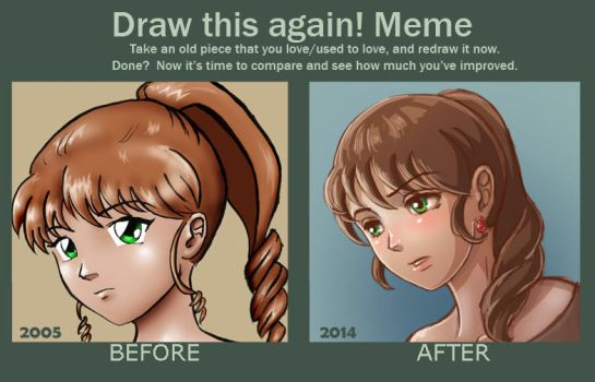 Meme: Draw This Again by danielle