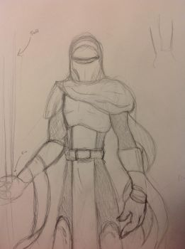 Imperial Guard Sketch by pulchra-mortuus
