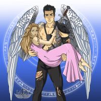 My Angel, My hero... [COLOR VERSION] by lady7archangels