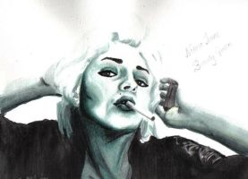 Norma Jeane by pinklacqueredskies