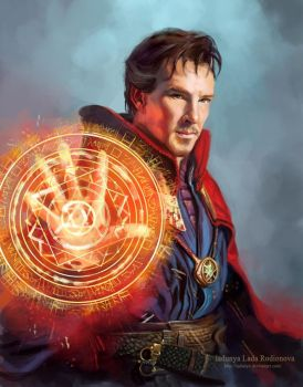 Doctor Strange by ladunya