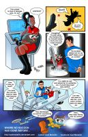 TLIID 308. Rocket Racoon joins the Starfleet by AxelMedellin