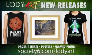 NEW RELEASES on the LODY ART society6 shop! by LodyArt