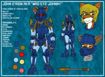 John O'rion Reference and Bio sheet by MikeOrion