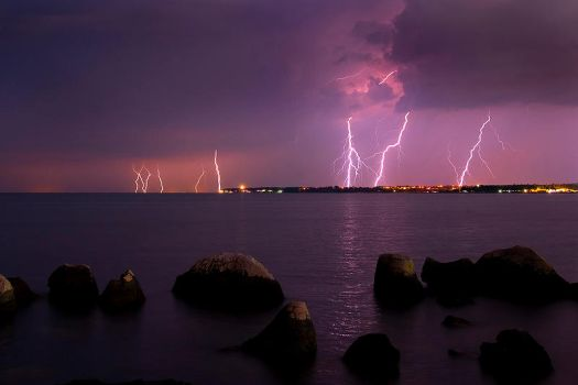 Night Storm Umag by ivekvatrozic