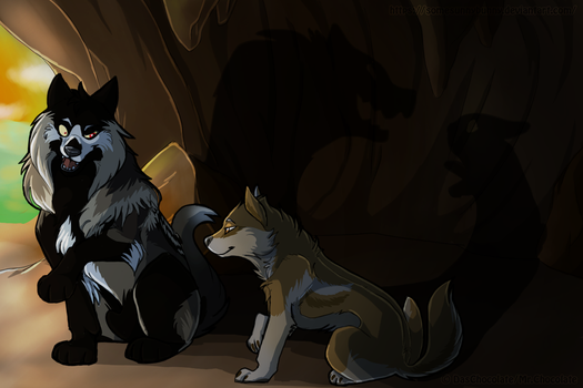 WoLF: The Wolf and the Rabbit (collab) by DasChocolate