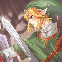 Link--Brave the Forest by InjoKEI