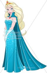 Vector OC For Sale 196 (Elsa) + 09/16 by LPDisney
